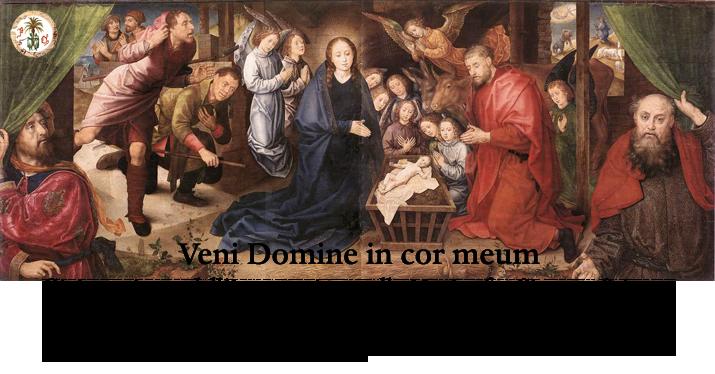 Veni Domine in cor meum