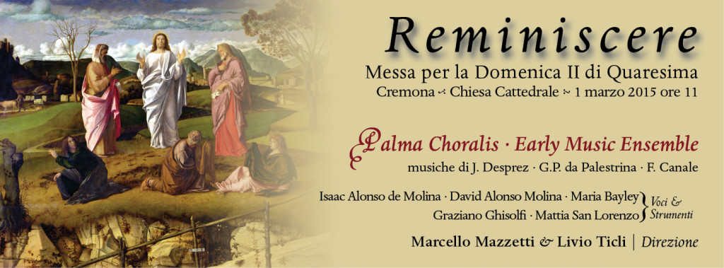 Reminiscere Palma Choralis