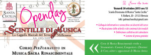 Scintille di Musica Open day 2015