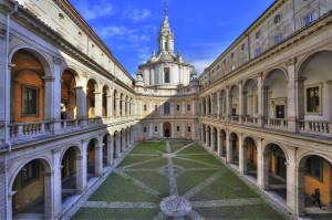 Sant'ivo alla Sapienza Roma