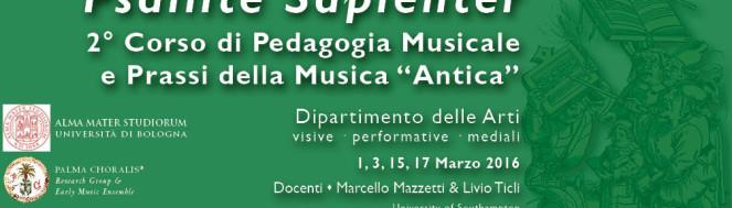 Psallite Sapienter 2016 Palma Choralis