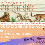 Open Day DipMusAnt Brescia 2019
