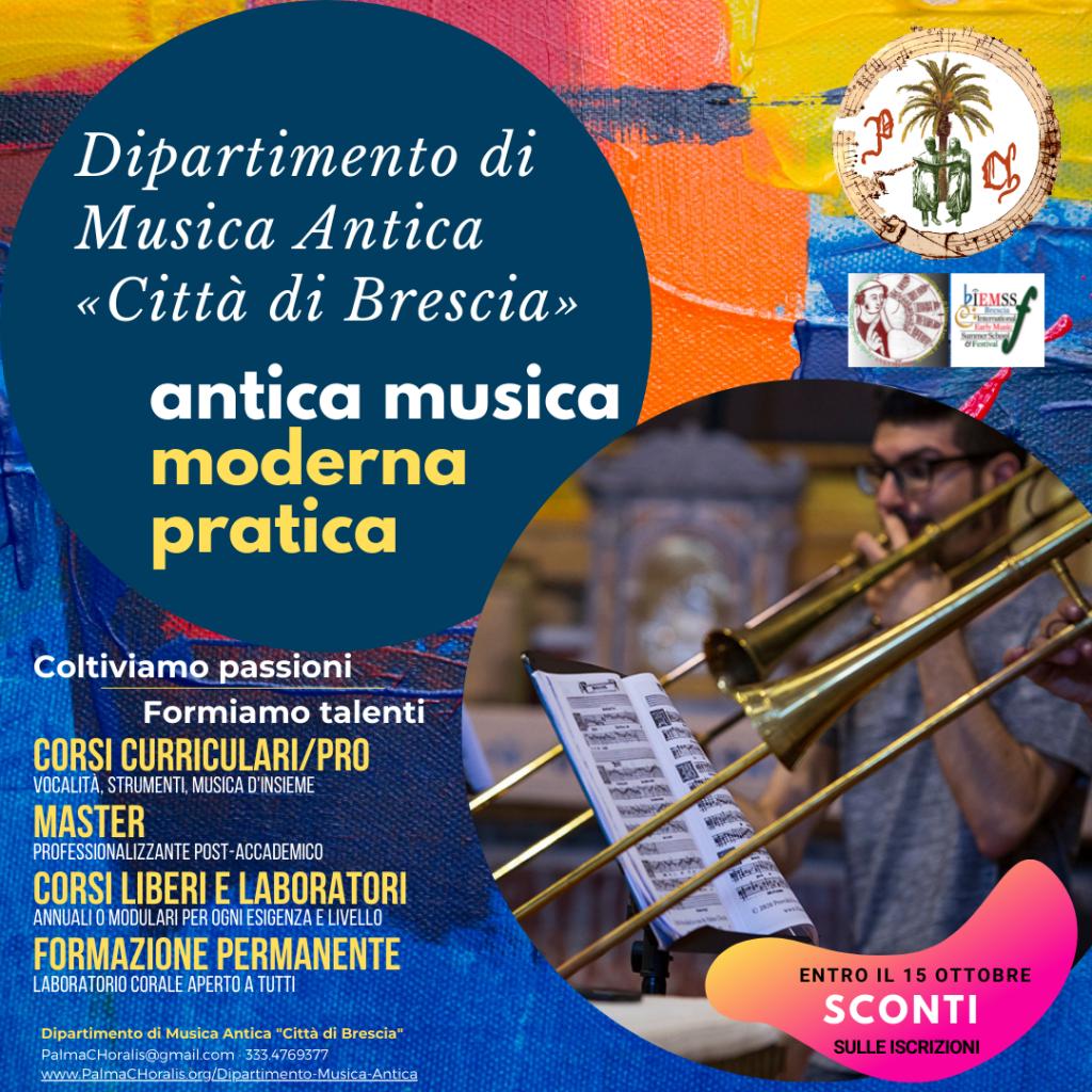 Dipartimento Musica Antica Brescia Palma Choralis